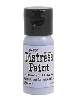 Tim Holtz Flip Top Distress Paint SHADED LILAC Ranger TDF53262 Preview Image