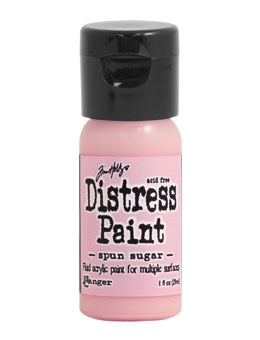 Tim Holtz Flip Top Distress Paint SPUN SUGAR Ranger TDF53286 Preview Image