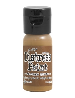 Tim Holtz Flip Top Distress Paint VINTAGE PHOTO Ranger TDF53354 zoom image