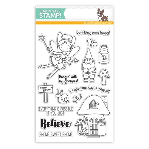 Simon Says Clear Stamps SECRET GARDEN SSS101629 * Preview Image