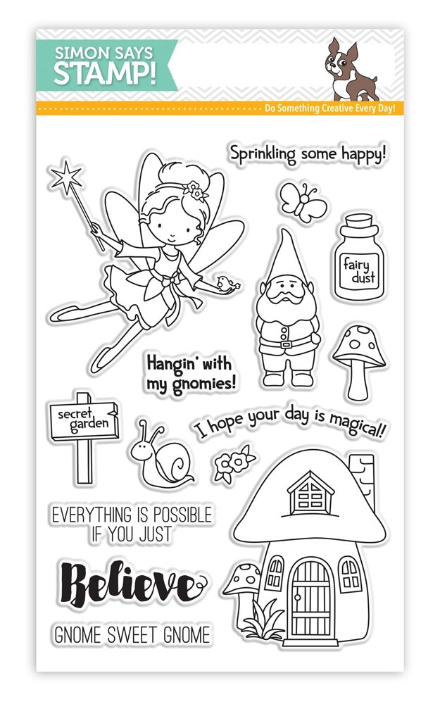 Simon Says Clear Stamps SECRET GARDEN SSS101629 * zoom image