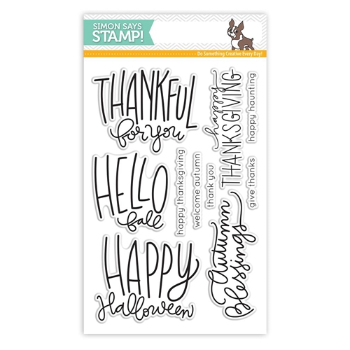 Simon Says Clear Stamps AUTUMN GREETINGS SSS101637 Preview Image
