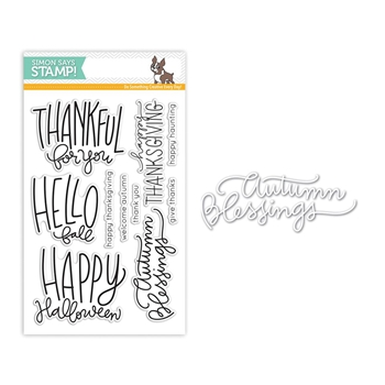 Simon Says Stamps And Dies AUTUMN GREETINGS Set273AG *
