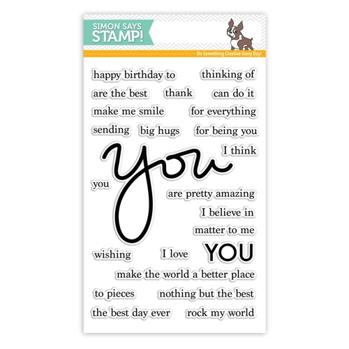 Simon Says Clear Stamps YOU MATTER SSS101645 Preview Image