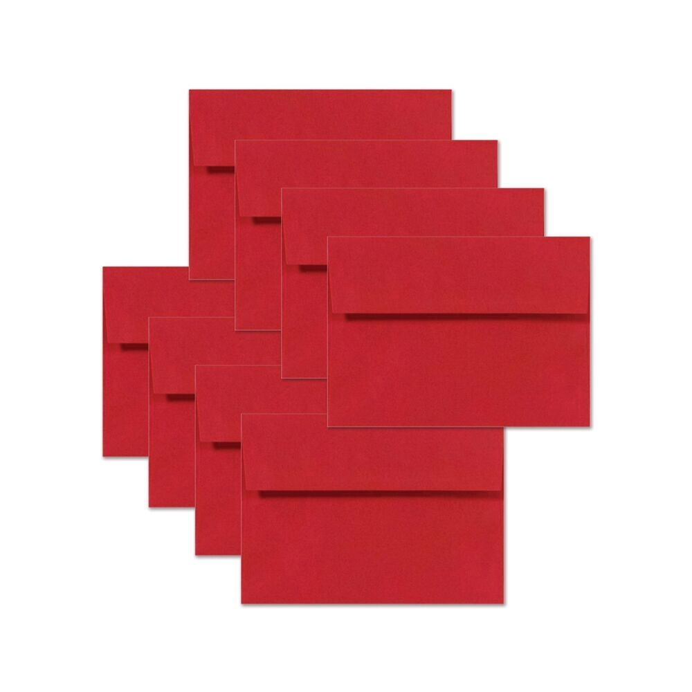 Simon Says Stamp Schoolhouse Red Envelopes x8