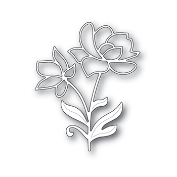 Simon Says Stamp BRIGHT BLOSSOMS Wafer Dies S392