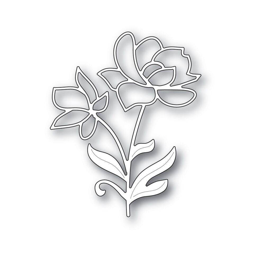 Simon Says Stamp BRIGHT BLOSSOMS Wafer Dies S392 zoom image