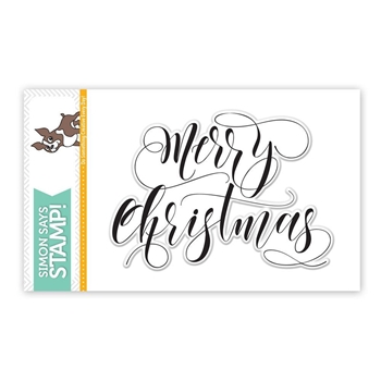 Simon Says Clear Stamps MERRY CHRISTMAS SSS101644