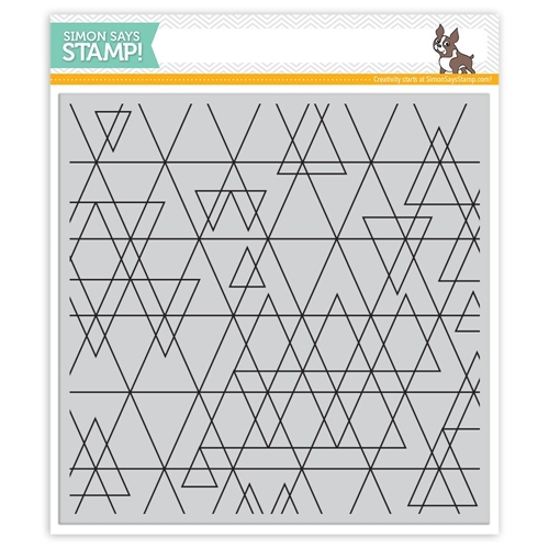 Simon Says Cling Stamps ABSTRACT TRIANGLES SSS101638 Preview Image