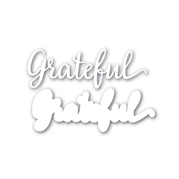 Simon Says Stamp GRATEFUL Shadow Wafer Dies SSSD111624