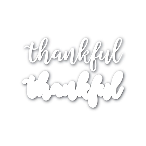 Simon Says Stamp THANKFUL Shadow Wafer Dies SSSD111625 Preview Image