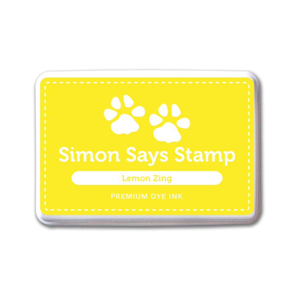 Simon Says Stamp Premium Dye Ink Pad LEMON ZING ink068