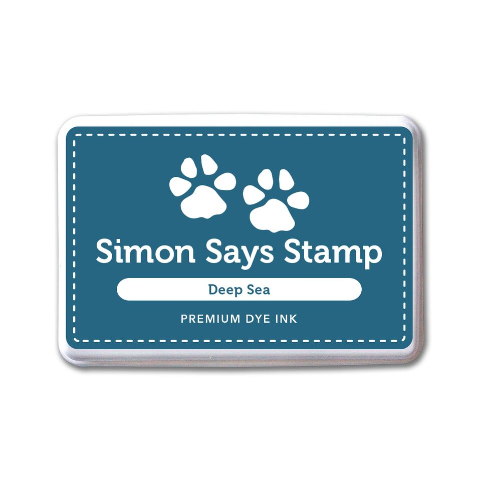 Simon Says Stamp Premium Dye Ink Pad DEEP SEA ink069