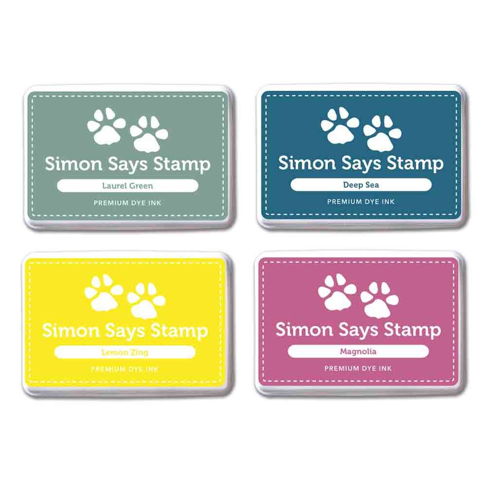 Simon Says Stamp Premium Dye Ink Pad Set RICH VIBES RVIBE4*