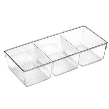 InterDesign CLARITY TRAY 3 39580