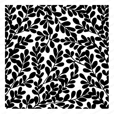 Impression Obsession Cling Stamp BOXWOOD Create A Card CC258 Preview Image