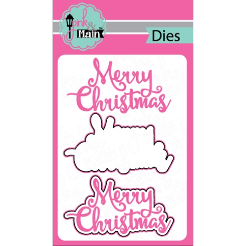 Pink and Main MERRY CHRISTMAS DIES PNM057 Preview Image