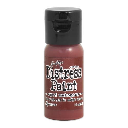 Tim Holtz Flip Top Distress Paint AGED MAHOGANY Ranger TDF52890 Preview Image