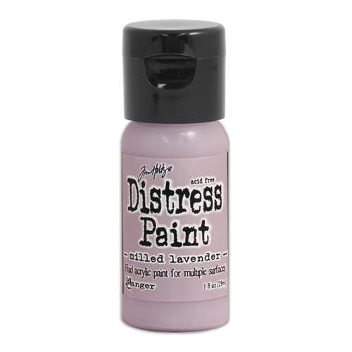 Tim Holtz Flip Top Distress Paint MILLED LAVENDER Ranger TDF53101 Preview Image