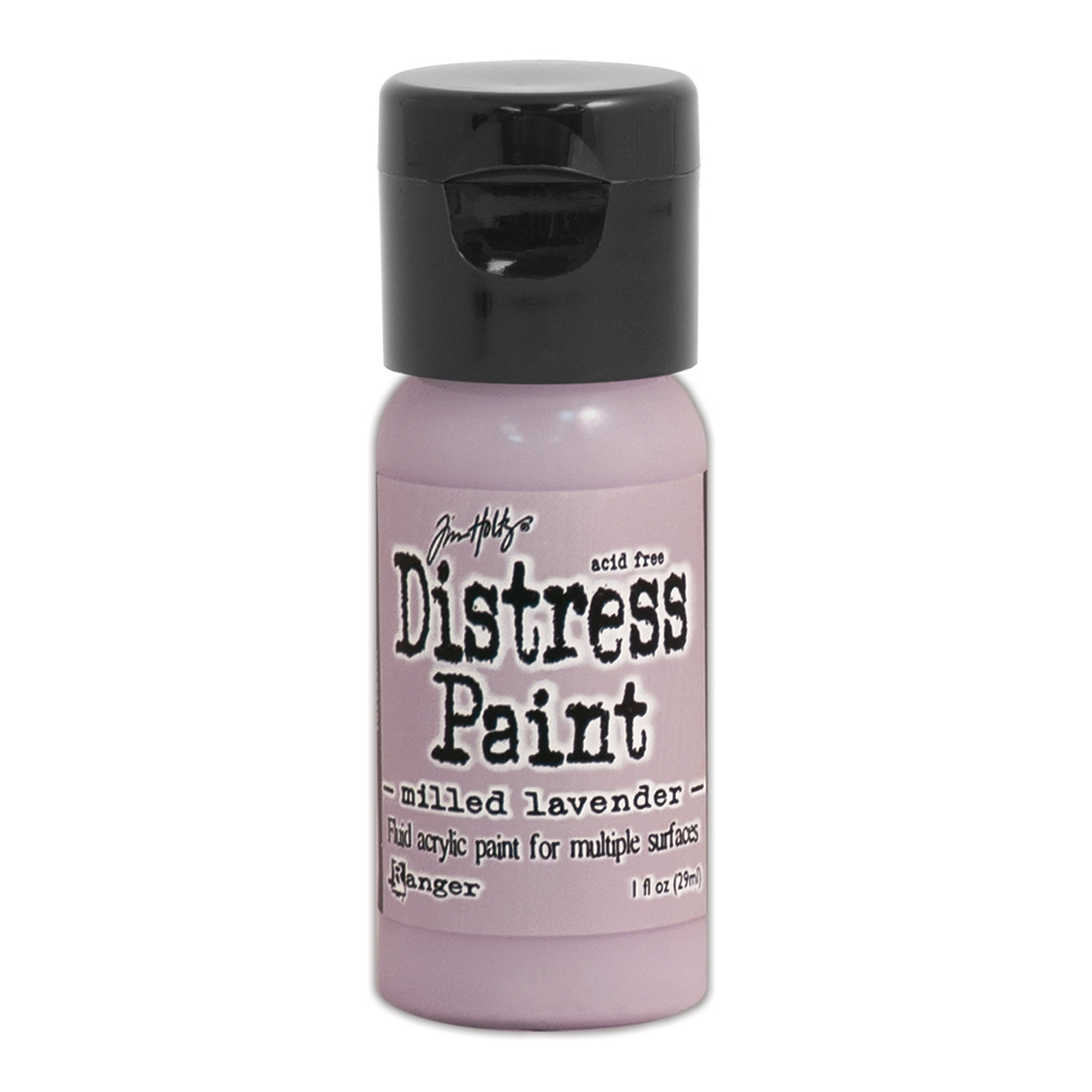 Tim Holtz Flip Top Distress Paint MILLED LAVENDER Ranger TDF53101 zoom image
