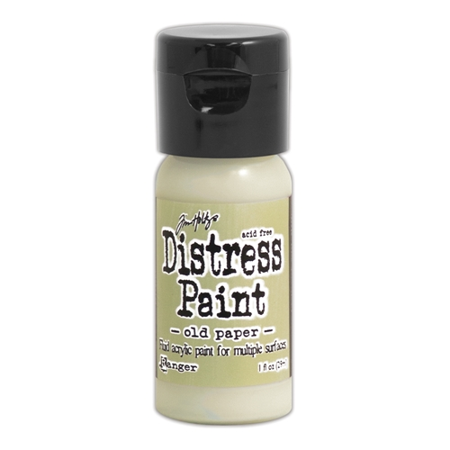 Tim Holtz Flip Top Distress Paint OLD PAPER Ranger TDF53132 Preview Image