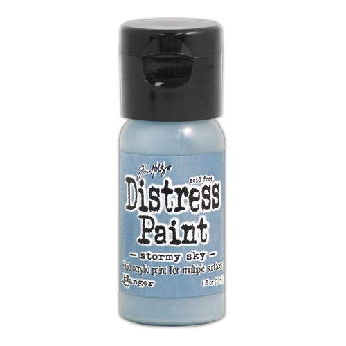 Tim Holtz Flip Top Distress Paint STORMY SKY Ranger TDF53309 Preview Image