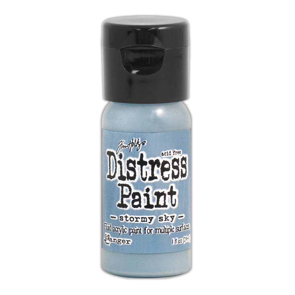 Tim Holtz Flip Top Distress Paint STORMY SKY Ranger TDF53309 zoom image