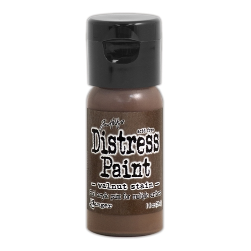 Tim Holtz Flip Top Distress Paint WALNUT STAIN Ranger TDF53361 Preview Image
