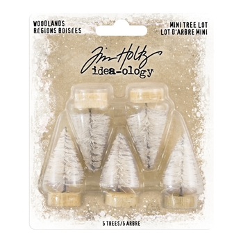 Tim Holtz Idea-ology MINI WOODLAND TREE LOT Findings th93758