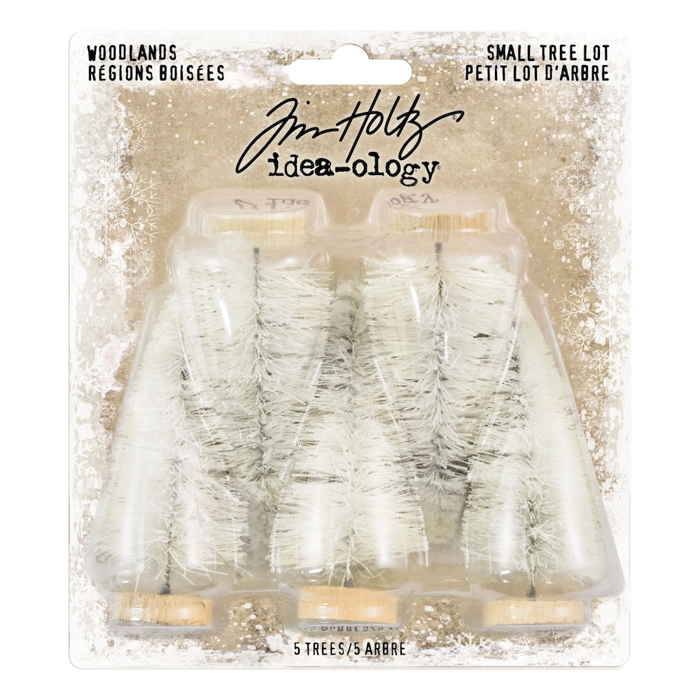 Tim Holtz Idea-ology SMALL WOODLAND TREE LOT Findings th93757 zoom image