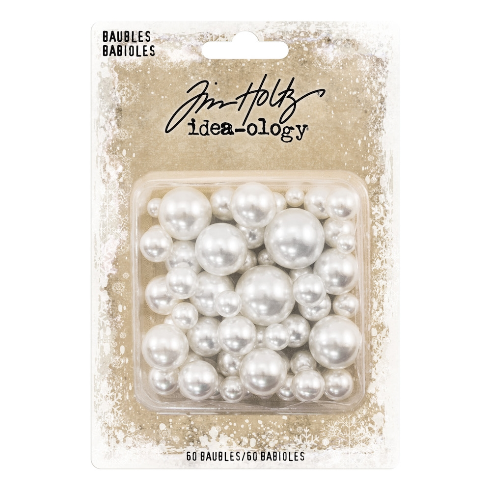 RESERVE Tim Holtz Idea-ology BAUBLES Findings th93759 zoom image