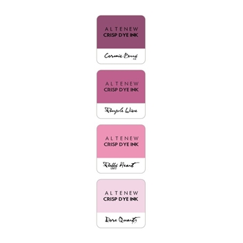 Altenew ROSE PETAL Mini Cube Crisp Dye Ink Pad Pack ALT1247