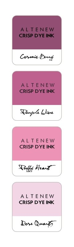 Altenew ROSE PETAL Mini Cube Crisp Dye Ink Pad Pack ALT1247 zoom image