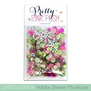 Pretty Pink Posh HOLIDAY SHIMMER Sequin Mix
