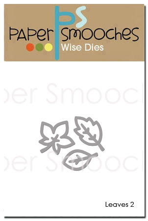 Paper Smooches LEAVES 2 Wise Dies OCD350* Preview Image