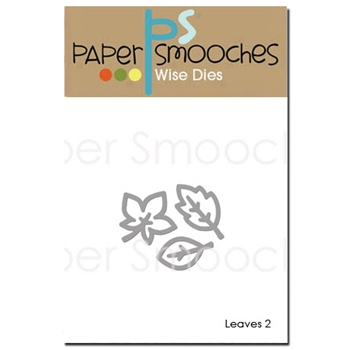 Paper Smooches LEAVES 2 Wise Dies OCD350*