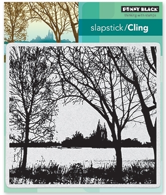 Penny Black Cling Stamp ON THE LAKE 40-501* Preview Image