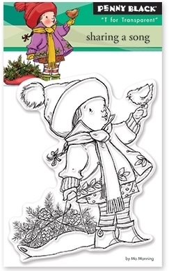 Penny Black Clear Stamps SHARING A SONG 30 389 Preview Image