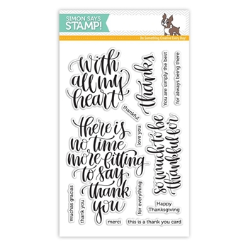 Simon Says Clear Stamps THANKFUL HEART SSS101684