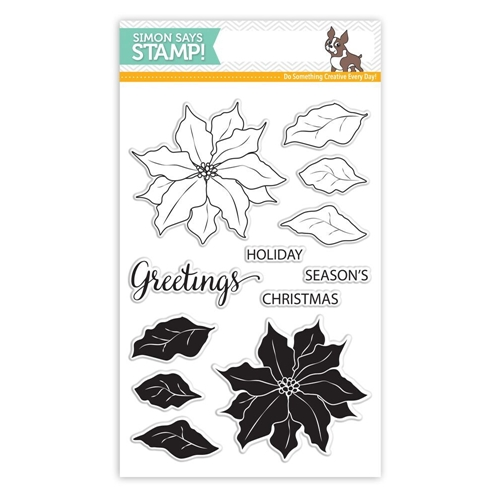 Simon Says Clear Stamps POINSETTIA SSS101651 * Preview Image