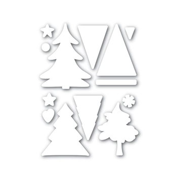 Simon Says Stamp COLOR ME TREES Wafer Die SSSD111631 Believe In The Season