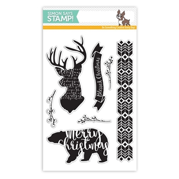 Simon Says Clear Stamps MAGICAL CHRISTMAS SSS101669 Believe In The Season