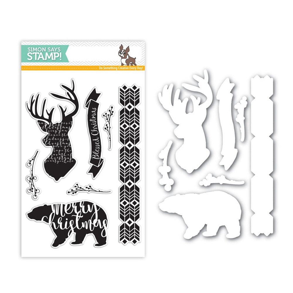 Simon Says Stamps And Dies MAGICAL CHRISTMAS Set280MC Believe In The Season * zoom image