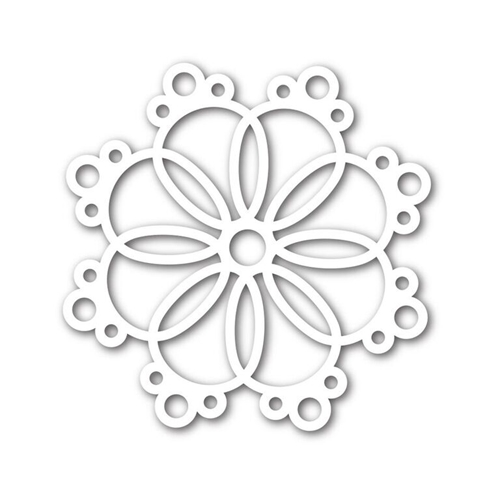 Simon Says Stamp ANNA SNOWFLAKE Wafer Die SSSD111634 Believe In The Season Preview Image