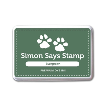 Simon Says Stamp Premium Dye Ink Pad EVERGREEN INK076 Believe In The Season