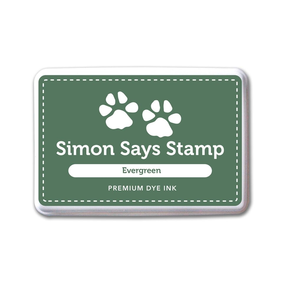 Simon Says Stamp Premium Dye Ink Pad EVERGREEN INK076 Believe In The Season zoom image