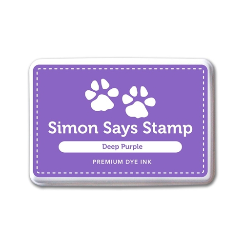 Simon Says Stamp Premium Dye Ink Pad DEEP PURPLE INK075 Believe In The Season Preview Image