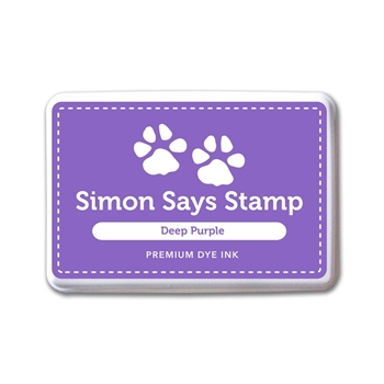 Simon Says Stamp Premium Dye Ink Pad DEEP PURPLE INK075 Believe In The Season