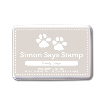 Simon Says Stamp Premium Ink Pad BARELY BEIGE INK072 Believe In The Season