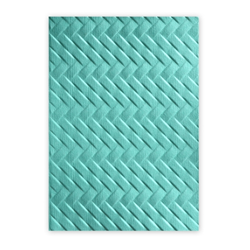 Sizzix Textured Impressions WOVEN 3D Embossing Folder 661261 Preview Image